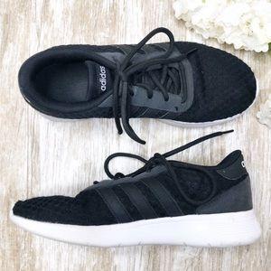 {Adidas} Lite Racer Athletic Sneakers Black White